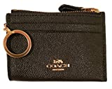 Coach Mini Skinny ID and Coin Case with Attached Key Ring