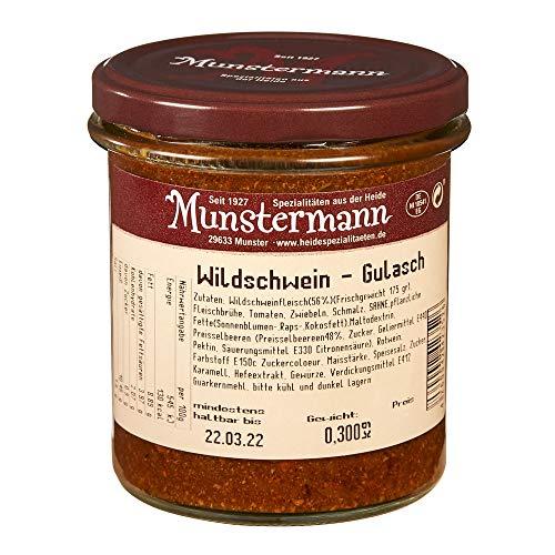 Wildschwein-Gulasch, Gourmet-Fertiggericht für 2 Personen (300g)