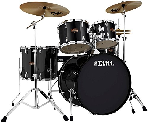 Tama IP52KCBK Imperialstar 5-Piece Complete Drum Kit with 22' Bass...