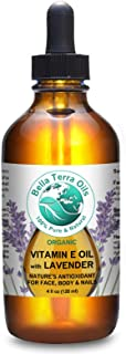 NEW ITEM! Vitamin E Oil Lightly Infused With Lavender Essential Oil. 4oz. 100% Pure. D-alpha Tocopherol. Natural Antioxida...