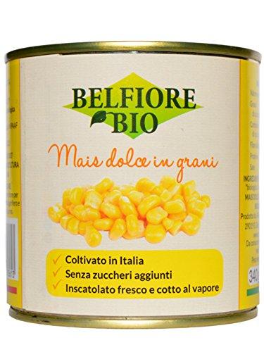 Belfiore Bio Mais Dolce Biologico in Grani Teneri - 340 gr, Italiano