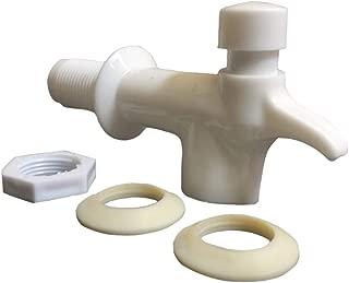 AquaNation BPA Free Replacement Cooler Faucet Water Bottle Jug Reusable Push Button Spigot Spout Water Beverage Lever Pour Dispenser Reid Valve Gravity Water Crock Water Tap