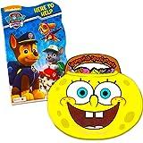 Nickelodeon Baby Toddler Board Books - Set of 2 (Paw Patrol Spongebob Board Books)