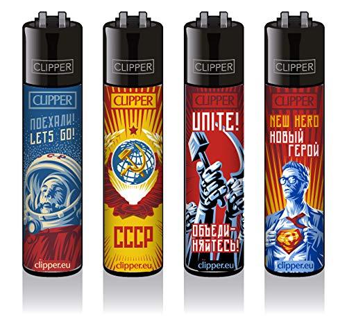 Clipper® Feuerzeuge - Soviet #2-4er Set