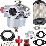ZAMDOE Carburador 632795A para Tecumseh TVS90 TVS100 ECV100 TVS120 TVS105 TVS115 TVXL115 Motores, reemplazo # 632795 632046A 632078A 632099, para Craftsman 4.5HP 5HP, Eager 1 cortacésped