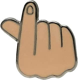 Emoji Enamel Lapel Pin - Funny Internet Meme Brooch Clip - Fun Trendy Accessory for Jacket T-Shirt Bag Hat Shoe