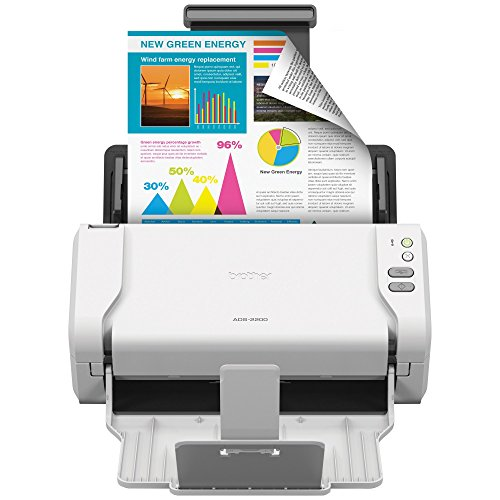 Affordable Brother High-Speed Desktop Document Scanner, ADS-2200, Multiple Scan Destinations, Duplex...