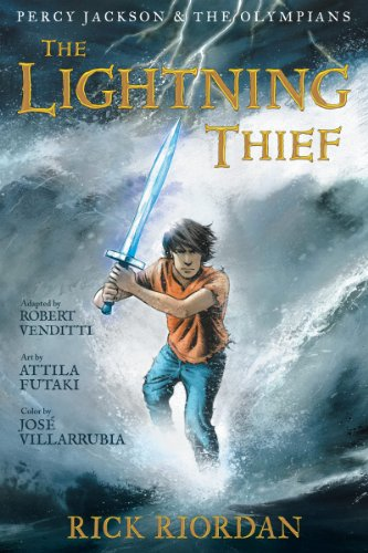 Percy Jackson and the Olympians: The Lightning Thief: The Graphic Novel (Percy Jackson and the Olympians: The Graphic Novel Book 1) (English Edition)
