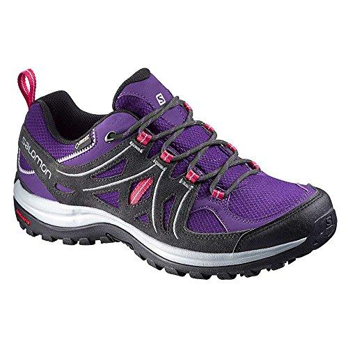 SALOMON Damen L37920200 Trekking- & Wanderhalbschuhe, Mehrfarbig (Cosmic Purple Asphalt Lotus Pink), 42 EU