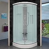 AcquaVapore DTP10-0000 Dusche Duschtempel Duschkabine Fertigdusche 80×80, EasyClean Versiegelung:JA mit 2K Scheiben Versiegelung - 3