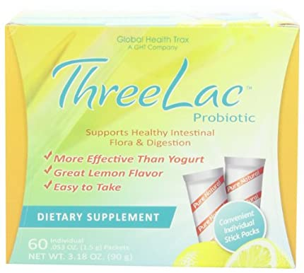 Global Health Trax (GHT) - Martínez probiótico Natural sabor a limón - 60 paquetes