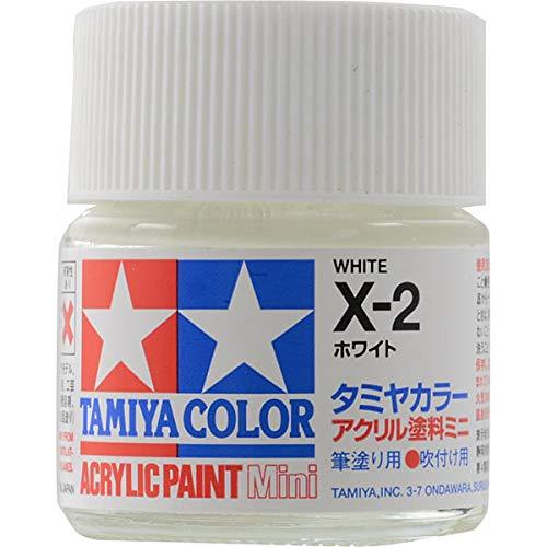 タミヤカラー アクリルミニ X-2 ホワイト 光沢
