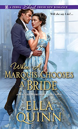 When a Marquis Chooses a Bride (The Worthingtons Book 2) (English Edition)