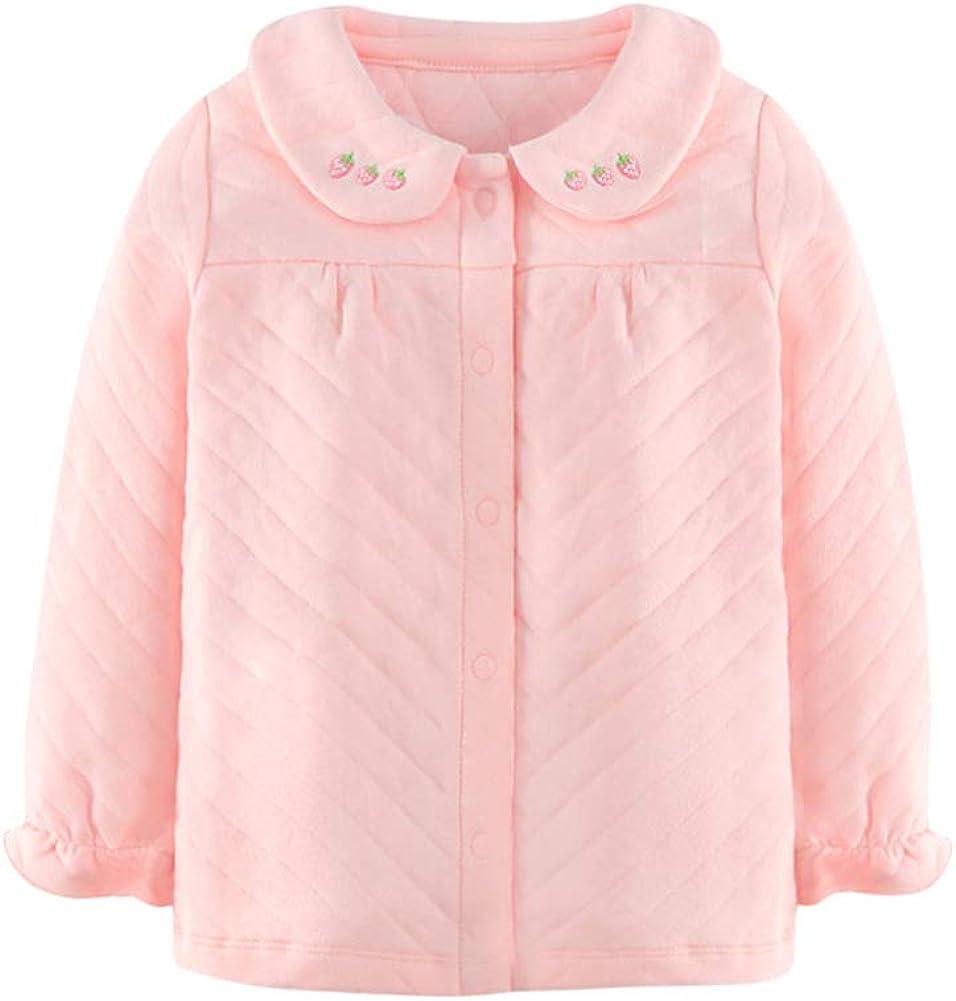 Tortor 1Bacha Kids Warm Nightclothes Girl Sleepsuit 100% Cotton Soft White, Pink