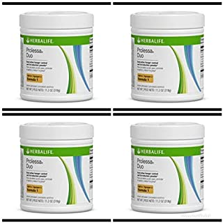 Herbalife Prolessa Duo 7-Day Weight Loss Fat Burner Supply (4) Pack Combo Deal