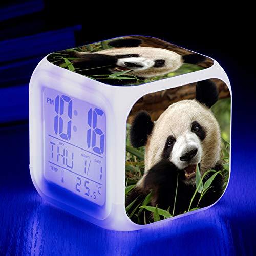 GYZBYWecker Panda Colorful Color Change Wecker Led Alarm