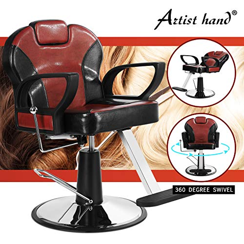 Price comparison product image Artist Hand Reclining Barber Chair All Purpose Salon Chair for Hair Stylist Tattoo Chair Stylist Chairs Salon Equipment