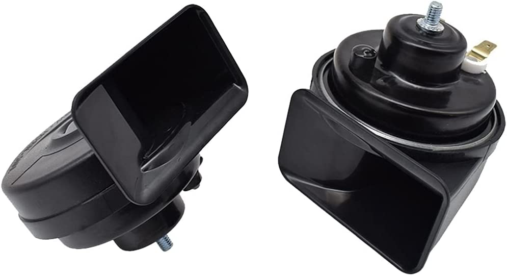 Selling and selling MADQW 410 510Hz Dual Pitch Car Waterproof Auto Horns Horn Snail Outlet ☆ Free Shipping