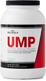 Beverly International UMP Protein Powder 30 Servings, Rocky Road. Unique whey-Casein Ratio Builds Lean Muscle and Burns Fat for Hours. Easy to Digest. No Bloat. (32.8 oz) 2lb .8 oz