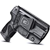 Taurus G2C Holsters, IWB Kydex Holster for Taurus G2C 9mm & Millennium PT111 G2/PT140, G2C Taurus Holster Accessories, Inside Waistband Concealed Carry, Pistol Handgun 9mm Holsters, Right Hand Draw