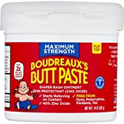 Boudreaux's Butt Paste Diaper Rash Ointment, Maximum Strength, 14 Oz