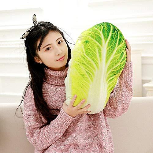 lili-nice Plüschtiere 50Cm Nickerchen Kissen Brokkoli Für Kinder Beschwichtigen Spielzeug Kreatives Gemüse Kissen Kissen S B.