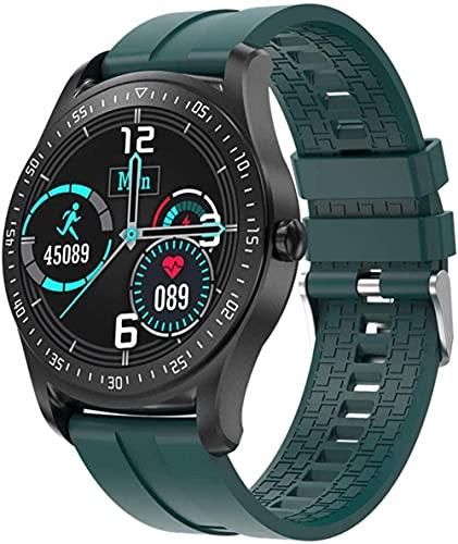 Reloj inteligente para hombre, monitor de ritmo cardíaco, monitor de actividad física, resistente al agua, IP67, para hombres, mujeres, Android IOS pulsera inteligente (color: A)-B
