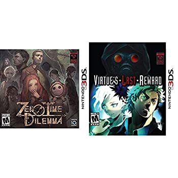 Zero Time Dilemma 3DS & Zero Escape  Virtue s Last Reward - Nintendo 3DS