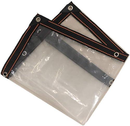 Garden - tarpaulin Bache Transparente Film Plastique Isolant Anti-Pluie Film Isolant Anti-Pluie Film de Prougeection de Meubles Couvre-Film, différentes Tailles 300G   M2