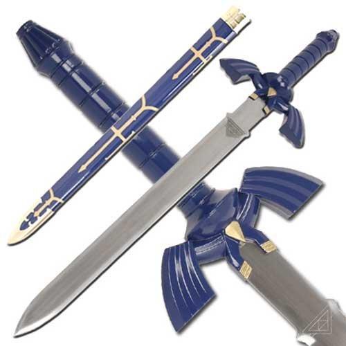 Zelda Twilight Princess Link Master Replica Sword