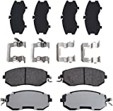 TRW Automotive TPC1539 Disc Brake Pad Set for Subaru Forester: 2011-2017 and other applications Front