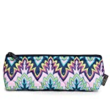 cinda b. Pencil and Brush Zip Pouch, Midnight Calypso, One Size