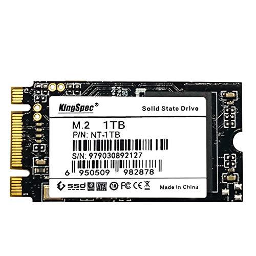 KingSpec 1 TB 2242 mm M.2 SSD NGFF Internes Solid-State-Laufwerk SATA III 6 Gbit / s für Ultrabook (1 TB)