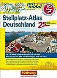 Promobil Stellplatz-Atlas Deutschland 2019/2020: Jubiläumsausgabe 25 Jahre Promobil (Hallwag Promobil)