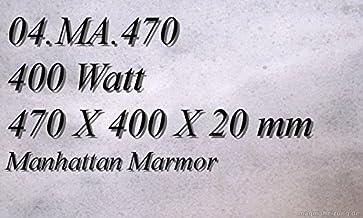 Calefacción por infrarrojos–Calefactor de infrarrojos eléctrico (mármol Magma Calefacción 400W 04. MA.470