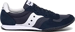 Saucony Originals Women's Bullet Classic Retro Sneaker, Navy/White, 8 M US