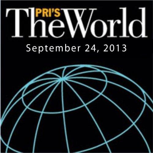 The World, September 24, 2013 audiobook cover art