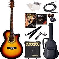 Sepia Crue セピアクルー エレクトリックアコースティックギター 初心者入門エントリーセット EAW-01/VS ヴィンテージサンバースト