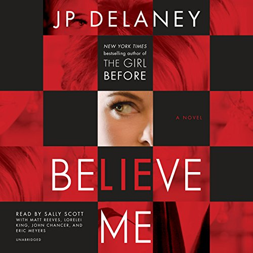 Believe Me audiobook cover art