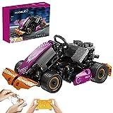 BGOOD Motores Mould King 18026, 2,4 G Ultra alta velocidad, control remoto dual con motores, compatible con Lego Technic, 289 piezas