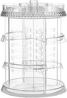Boîte de rangement parfaite Support de table de coiffeuse transparent multicouche transparent pour tiroir de rangement pou...
