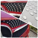 Clase A (W176/W117/CLA) Sports parrilla Look Chrome Stickers