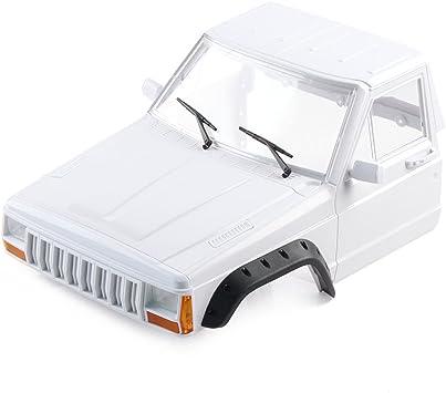 INJORA RC Carrocería Corpo Cuerpo RC Front Cab Cherokee Body Car Shell para 1/10 RC Crawler Traxxas TRX4 Axial SCX10 90046 Redcat Gen 8 Scout II