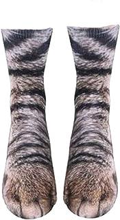Beito, Patrón Unisex Divertido Animal De La Pata De La Novedad Calcetines 3d Gráfico Pies Dinosaurio Impresión Animal Calcetines Hombres Mujeres