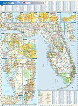 Florida State Wall Map - 22  x 30  Paper