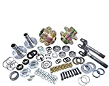 Yukon Gear & Axle (YA WU-07) Spin Free Locking Hub Conversion Kit for Jeep TJ/XJ/YJ Dana 3...