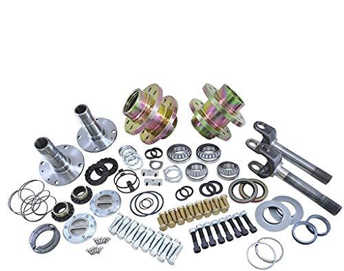 Yukon Gear & Axle (YA WU-07) Spin Free Locking Hub Conversion Kit for Jeep TJ/XJ/YJ Dana 30...