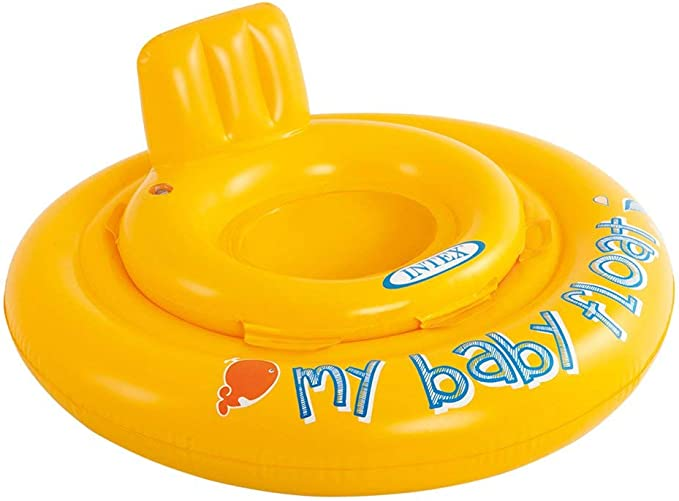 Intex 56585EU - Flotador hinchable bebé 70 cm circular de 6 a ...