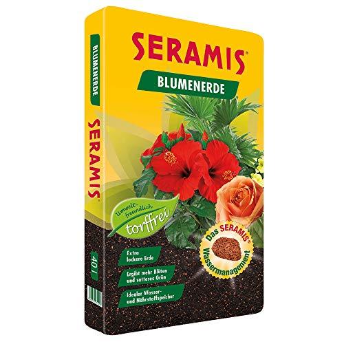 Seramis torffreie Erde, Blumenerde,731458, Tonfarben, 40 L
