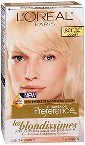 L'Oreal Superior Preference Les Blondissimes - LB01 Extra Light Ash Blonde 1 Each (Pack of 2)